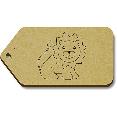 Tag X 'lion' 10 tg00005791 34mm Azeeda regalo 66mm bagaglio wFa5T