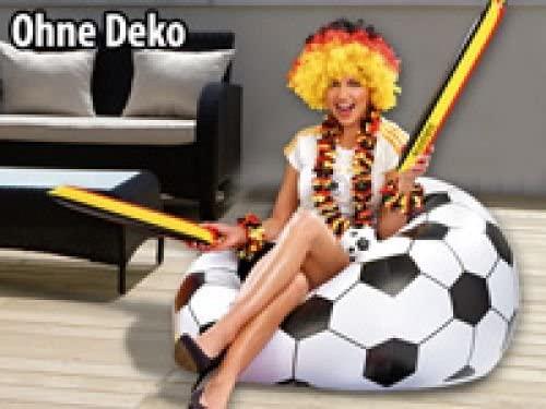 Balón de fútbol - Sillón hinchable (8107): Amazon.es ...