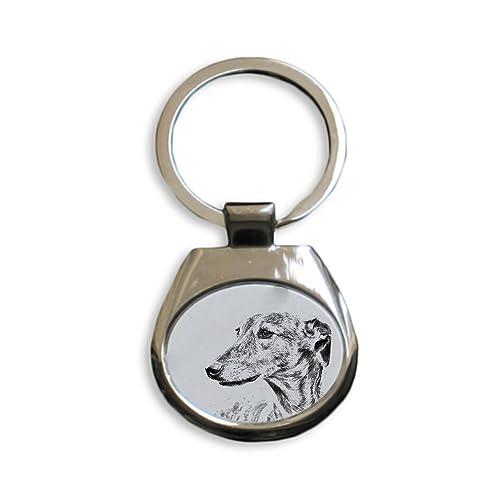 ArtDog Ltd. Galgo, nuevos llaveros con Perros de Pura Raza ...