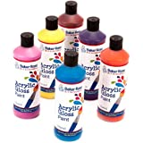 Acrylic Paint (pack B) 175ml of 6 Assorted Colours Water-Based Paint for Children's Painting & Crafts - Pack of 6