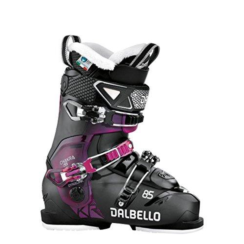 Dalbello Women's Chakra AX 85 Ski Boot 2018 Black/Fucsia 240