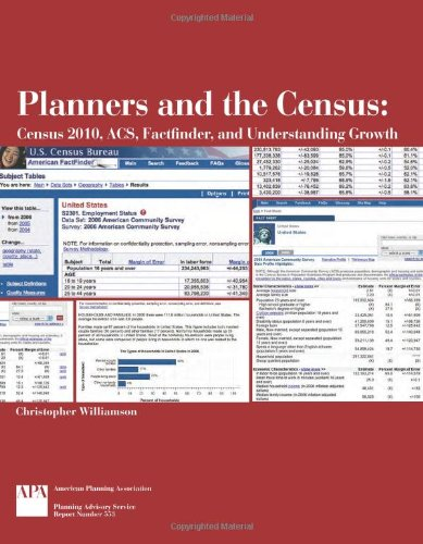 Planners and the Census: Census 2010, ACS, Factfinder,...