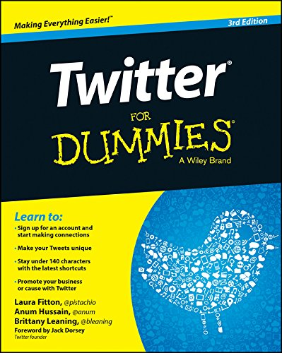Twitter For Dummies (For Dummies Series) (Best Instant Messaging For Business)