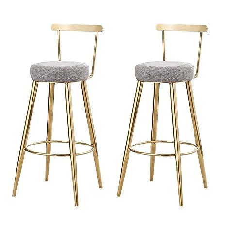 Amazon.com: Taburete de bar, silla de bar, sillón de ...