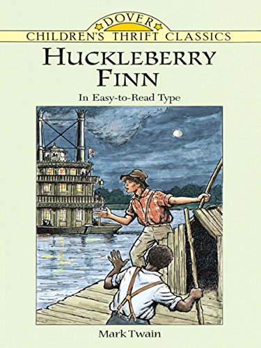 Huckleberry Finn: Dover Thrift Edition (Dover Children's Thrift Classics)