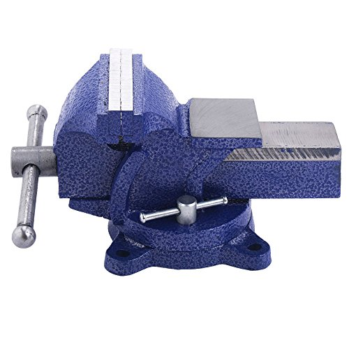 "5"" Mechanic Bench Vise Table Top Clamp Press Locking Swivel Base Heavy Duty New from Unknown"