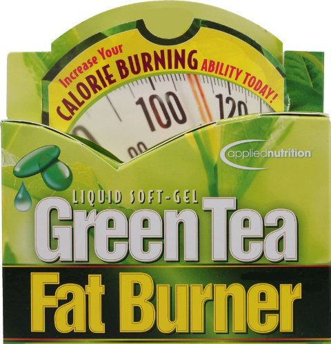 Applied Nutrition Green Tea Fat Burner with EGCG Single & Multi Pack (Two Bottles each of 200 Soft-Gels) by FAT BURNER (Image #3)