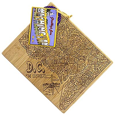 Totally Bamboo Phoenix City Life Bamboo Serving Board