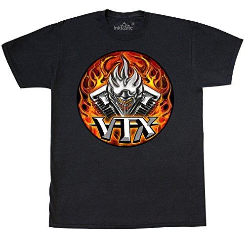 inktastic - VTX T-Shirt XX-Large Black - WickedApparel by Michael Spano 1eea9