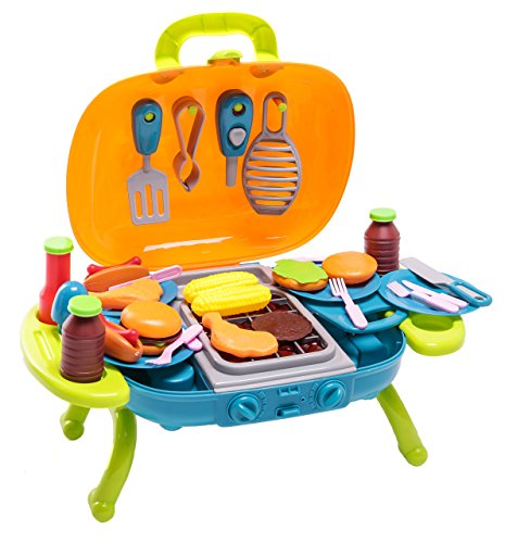 BBQ Play Set - 40 Pieces w/ Light & Sound