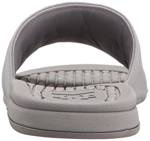 Dc Mens Bolsa Slide Sandale Gris