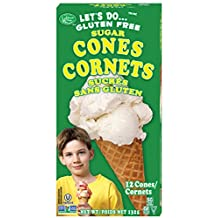 Let's Do… Gluten Free Sugar Cones, 132 Grams