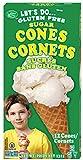 Let's Do Organics Sugar Cones, 4.6 oz