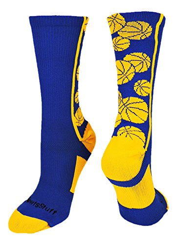 MadSportsStuff Crazy Basketball Logo Crew Socks (a number of colours) – DiZiSports Store