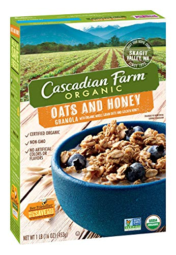 How to buy the best cascadian farms granola oats and honey?