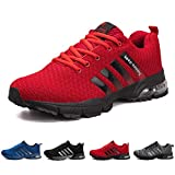 Men's Running Shoes Lightweight Breathable Air Cushion Sneakers Casual Athletic Walking Shoes