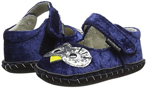 Pictures of pediped Girls' Originals Jazzy Crib Shoe Navy 2374 4