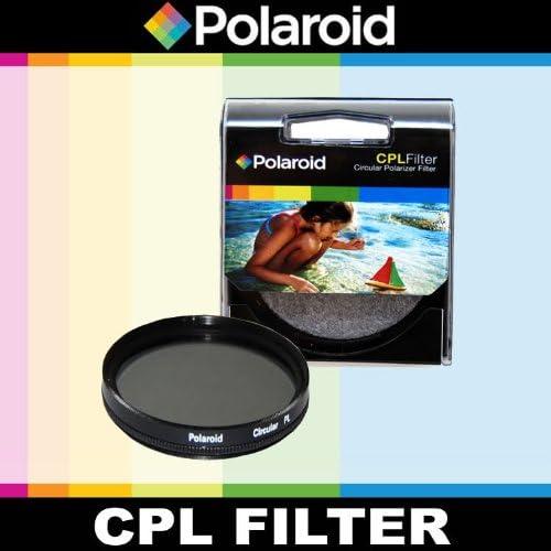 Polaroid Optics CPL Circular Polarizer Filter For The Olympus OM-D E-M5 E-M1 GX1 Digital SLR Cameras Which Has The ZUIKO Digital ED 14-42mm f3.5-5.6 Micro 4//3 Zoom PEN E-P2 PEN-E-PL5 PEN-E-PL3 E-PM2 E-P5 PEN E-P3 PEN E-PL1 E-M10 E-PL2 E-PM1