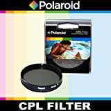 Polaroid Optics CPL Circular Polarizer Filter For The Nikon D40, D40x, D50, D60, D70, D80, D90, D100, D200, D300, D3, D3S, D700, D3000, D5000, D3100, D3200, D3300, D7000, D5100, D4, D4s, D800, D800E, D600, D610, D7100, D5200, D5300 Digital SLR Cameras Which Have Any Of These (18-55mm, 55-200mm, 50mm, 40mm, 28mm) Nikon Lenses