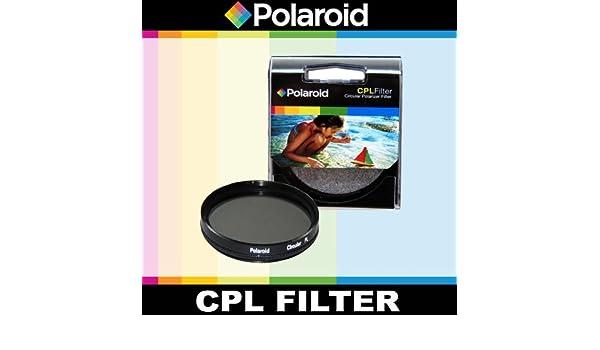 Polaroid Optics filtro polarizador circular CPL para la Pentax X-5, K-01, K-30, K-X, K-7, K-5, K-5 II, K-R, 645d, K20D, K200D, K2000, K10D, K2000, K1000, ...