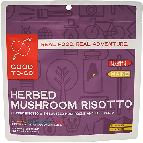 Good To Go Herbed Mushroom Risotto (Double Serving)