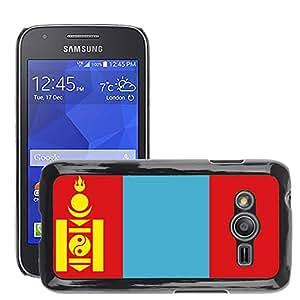 GoGoMobile Etui Housse Coque de Protection Cover Rigide pour // V00001119 mongolia Bandera Nacional País // Samsung Galaxy Ace4 / Galaxy Ace 4 LTE / SM-G313F