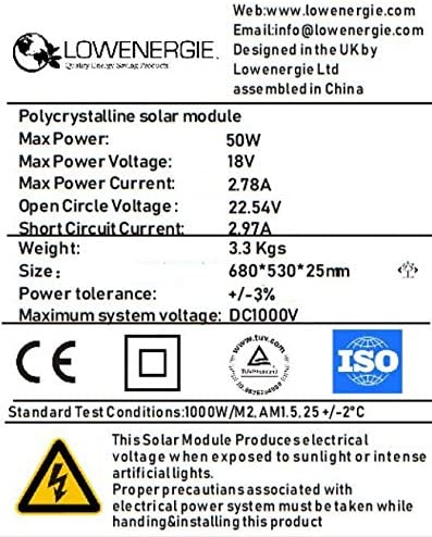 Motorhomes 40w Poly-Crystalline Solar Panel Battery Charging Kit with Charger K1 For Caravans Boats /& Any Flat Surface