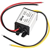 DROK® Buck Voltage Reducer Converter 12V to 7.5V 3A/22W Step-down Power Module DC/DC Voltage Transformer Regulator Power Supply Board for LED Display Radio