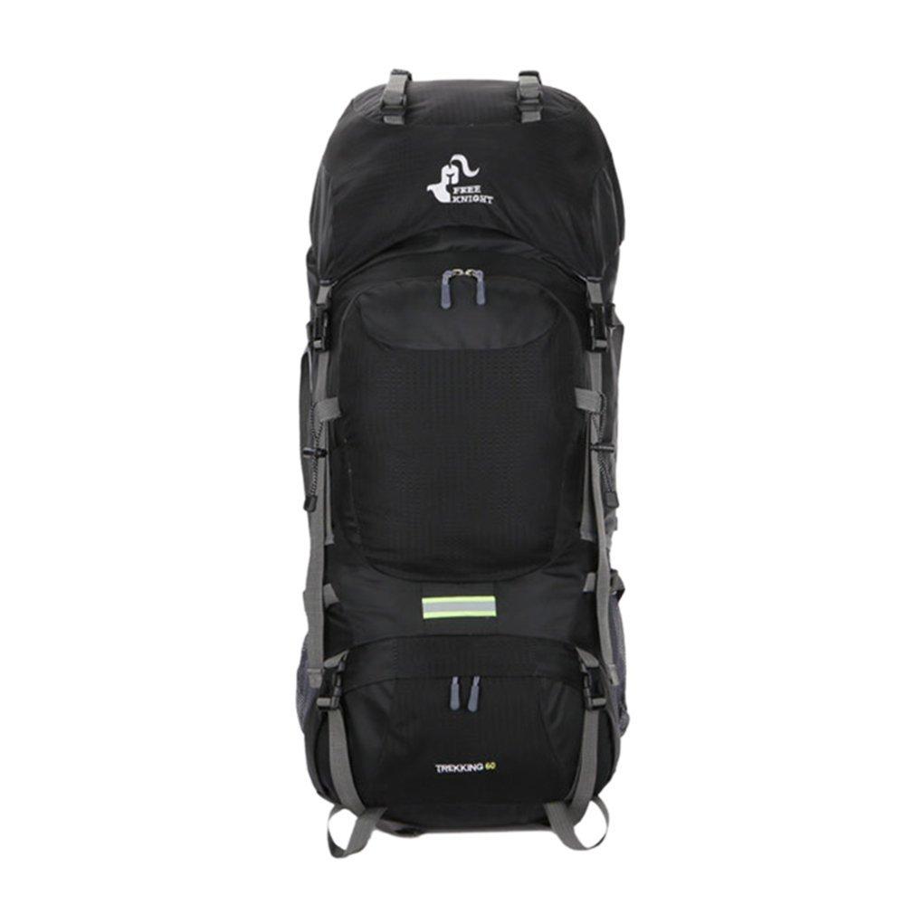 LITTHING Trekking Mochila Impermeable 60L Alpinismo al Aire Libre Mochila táctica para Damas de Gran Capacidad para Senderismo, montañismo y Viajes ...