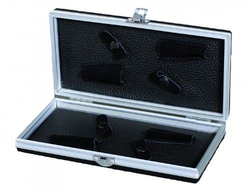 Aluminium Scissors Case, Black, Large Sonstige