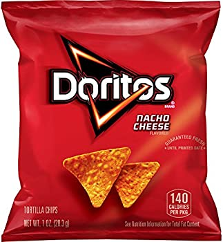 40-Pack Doritos Nacho Cheese Flavored Tortilla Chips