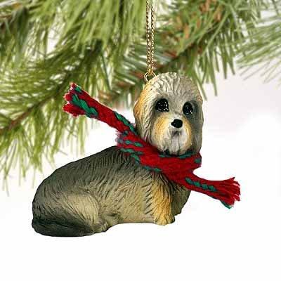 Dandie Dinmont Terrier Miniature Dog Ornament (Dandie Dinmont Terrier Dog Figurine)
