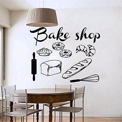 Eeemmm Shop Vinyl Wandtattoo Bäckerei Küche Cafe Shop ...