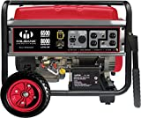 Milbank MPG6500E Portable Generator with Electric Start, 6,500-watt