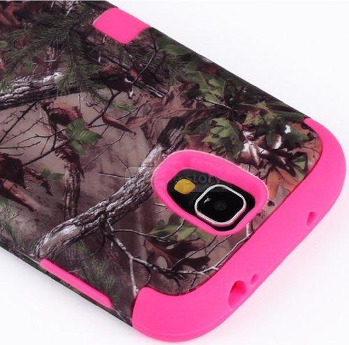 myLife (TM) Rose Pink - Brown Tree Camouflage