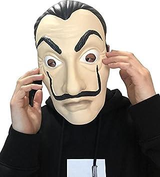 Cosplayator Salvador Dali Máscara La casa de Papel - Money Heist