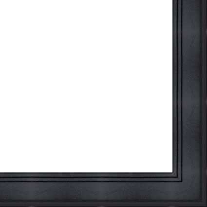 Amazoncom 26x32 26 X 32 Contemporary Black Solid Wood Frame