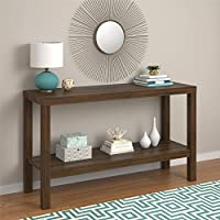Parsons Console Table, CANYON WALNUT