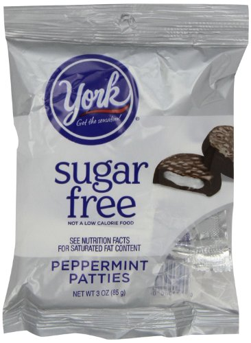 York Peppermint Patties Dark Chocolate Covered Mint Candy, 3 Ounce (Pack of (Chocolate Covered Peppermint Patties)