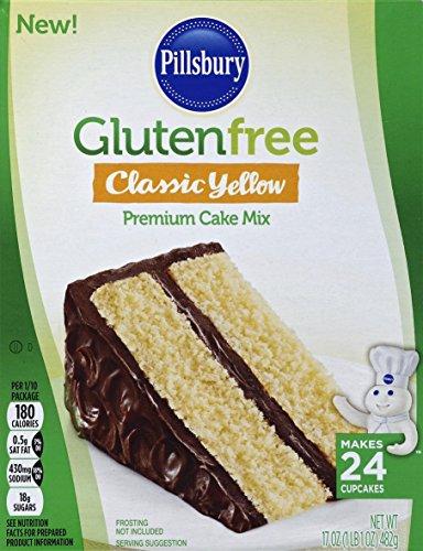 Pillsbury Gluten Free Classic Yellow Premium Cake Mix, 17 oz