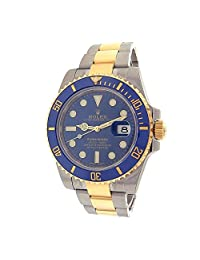 Rolex Submariner automatic-self-wind mens Watch 116613LB (Certified Pre-owned)