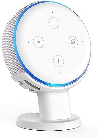 Alexa Echo 4 Halterung Ständer Zubehör Tischständer Stand Holder Smart Speaker