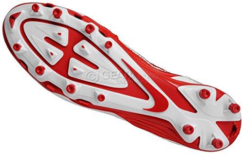 Nike Mens Alpha Pro Td Tacchetti Da Calcio Bianchi / Rossi 579545-160 Taglia 14