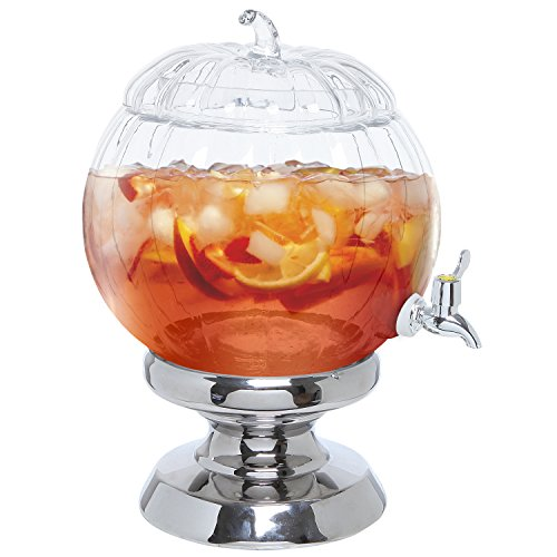 Gallon Pumpkin Beverage Dispenser Server
