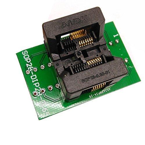 SSOP14 TSSOP14 to DIP14 Programming Socket Pitch 0.65mm IC Body Width 4.4mm 173mil Test Socket Adapter Programmer