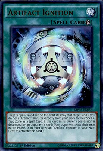 Yu-Gi-Oh! - Artifact Ignition (MP15-EN034) - Mega Pack 2015 - 1st Edition -  Ultra Rare