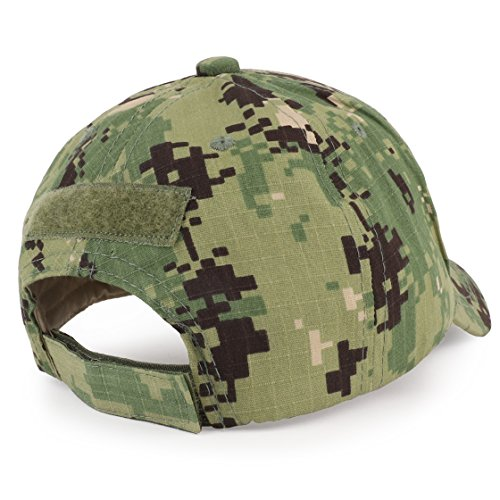 Trendy Apparel Shop Youth Military Camo Combat American Flag Patch Tactical Cap - NWU Camo by Trendy Apparel Shop (Image #1)