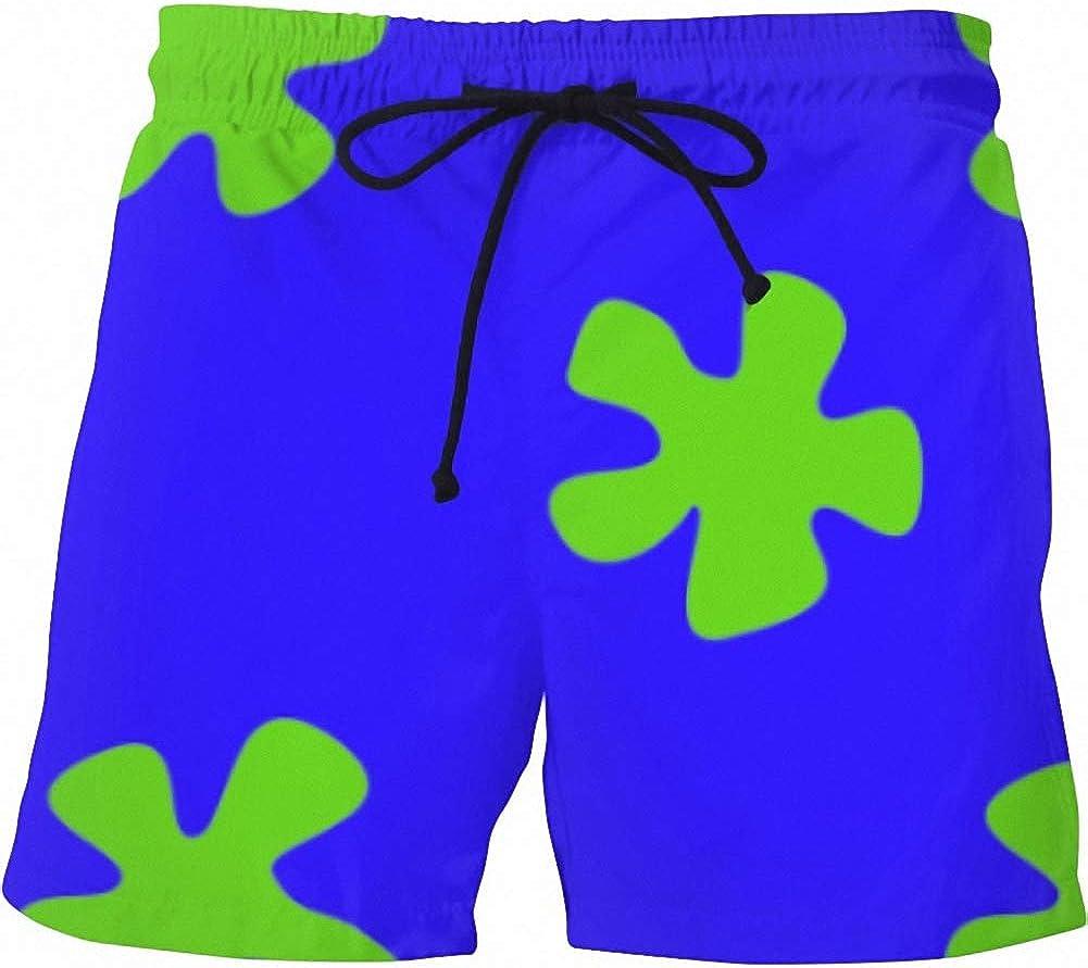 Summer Men Casual Shorts 3D Water Star Trousers Regualr Beach Shorts