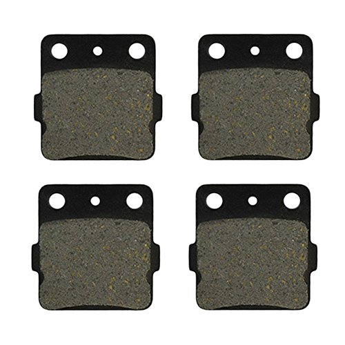 AHL Semi-metallic Front & Rear Brake Pads Set for Honda TRX300 EX Fourtrax 1993-2008