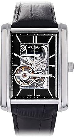 Rotary Edelstahl Herren LES Originales Armbanduhr Produkt Code: gs90520-05